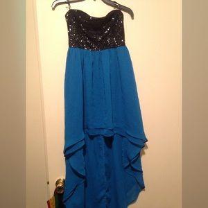 Forever 21 hi-low homecoming/formal dress