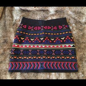 Sam Edelman Tribal Print Skirt