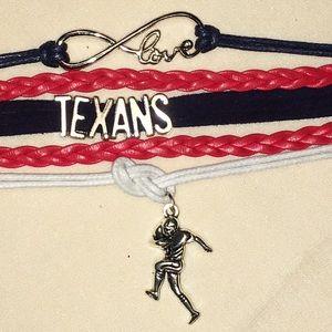 Houston TEXANS 🏈 Player Friendship Bracelet