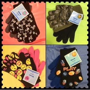 Boutique Other - 2-$10/Children's colorful Winter gloves