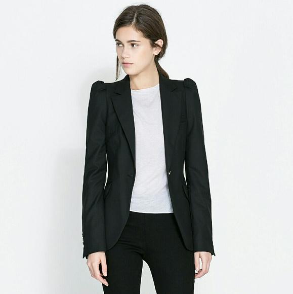 Blazers For Women: Woman Blazer With Gathered