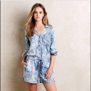 Anthropology Cloth&Stone Romper
