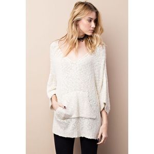 likeNarly Tops - •BUY2/1FREE• Chance of Cozy Off White Sweater