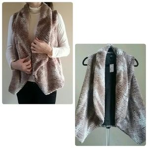 Lisa International Jackets & Blazers - Lisa International Faux Fur Vest