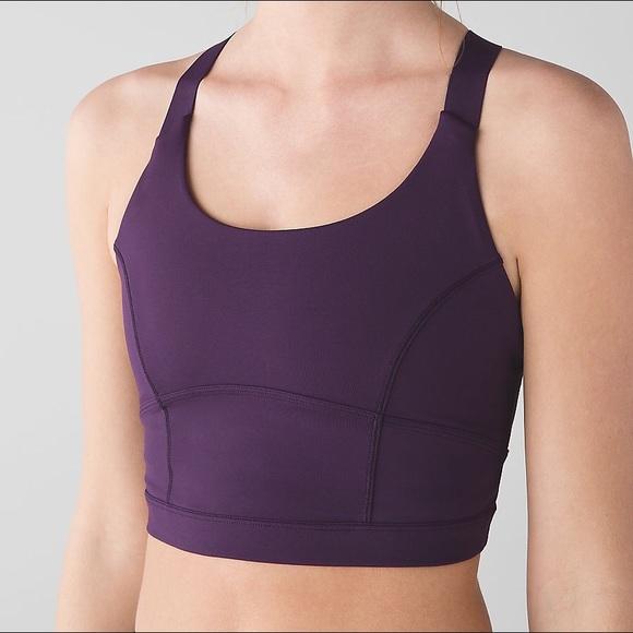 9aed353b447cd lululemon athletica Other - 🍋Lululemon Pure Practice long line bra size 10