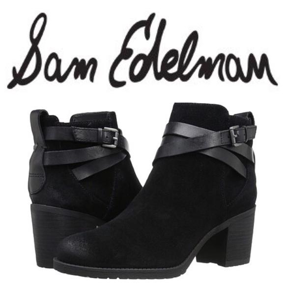 Womens Boots Sam Edelman Hannah Black