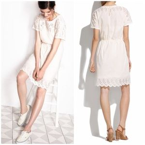 Madewell Dresses & Skirts - CCO 🎉 {Madewell} Eyelet Wildfield Dress in Beige