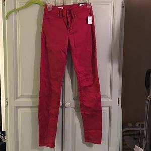 RED Gap legging jeans