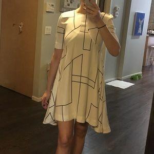 H&M hi low dress SZ 4