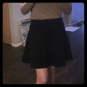 Aiko texturized pattern warm cotton skirt SZ S