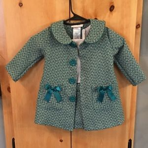 Bonnie Baby Other - adorable throwback dress with matching coat