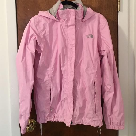 3f44afd82 Women's Light Pink North Face Rain Coat