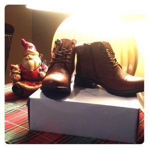17 Sundays Shoes - Brand new combat boots size 8