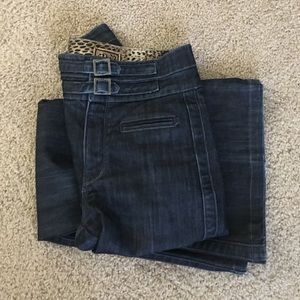 Rich & Skinny Denim - Rich & Skinny 26 flared mid rise made in USA jeans