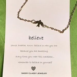 Dogeared Jewelry - Minimalist Inspirational bird necklace gift $FIRM