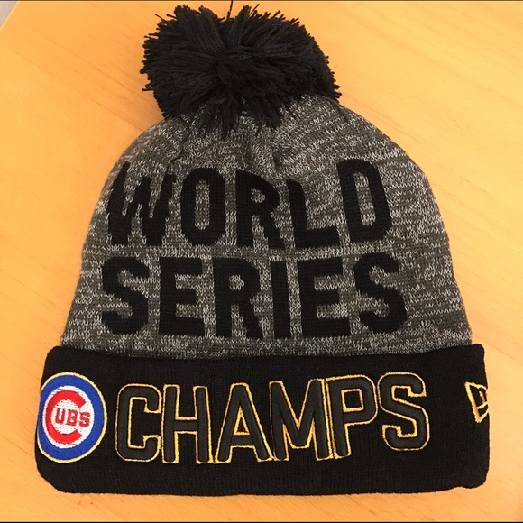 Chicago Cubs World Series Knit Hat 359782c6828