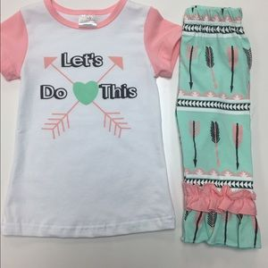 """Boutique Other - """"Last One"""" Boutique Baby Outfit"""
