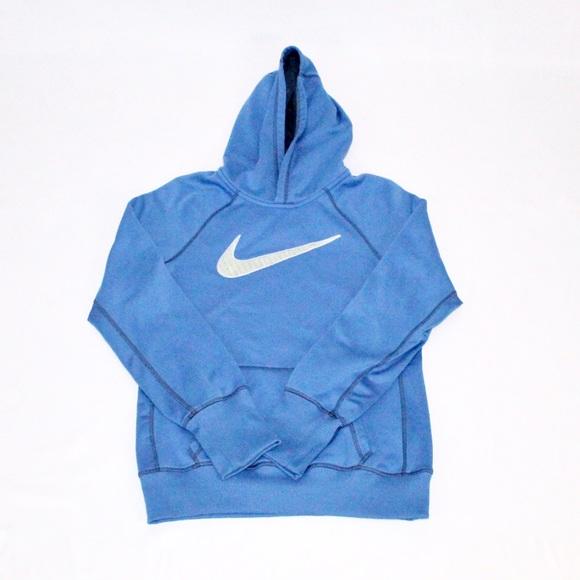 607697949dbb Light Blue Nike Therma-Fit Hoodie. M 583dc0a77fab3a1cda016c19