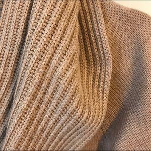 H&M Dresses - H&M tan turtleneck sweater dress