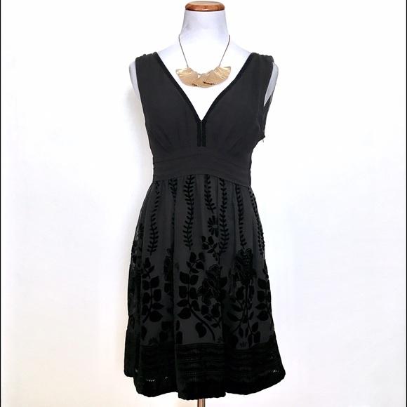H&M Dresses & Skirts - Black H&M Velvet Detail Cocktail Dress