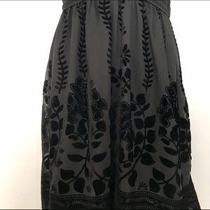 H&M Dresses - Black H&M Velvet Detail Cocktail Dress