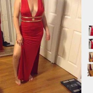 House of CB Dresses & Skirts - House of CB long red maxi