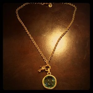 Juicy Couture Jewelry - JUICY COUTURE Green Dove Necklace