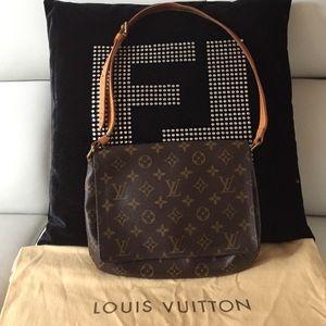 Louis Vuitton Flap Shoulder Bag