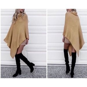 Anthropologie Sweaters - Turtleneck Pullover Poncho