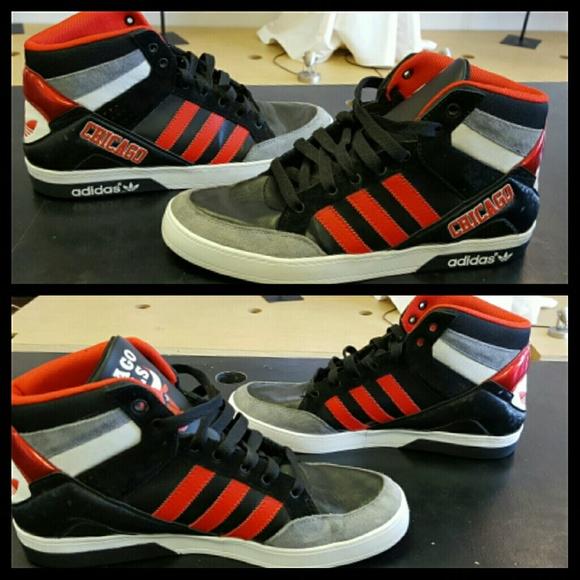 Adidas Chicago Bulls Sneakers Sz 5