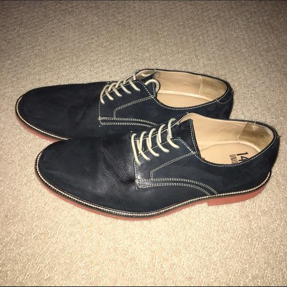 3877c70d28b 14th   Union Other - Arlington Derby Nubuck Navy Men s Shoe 11