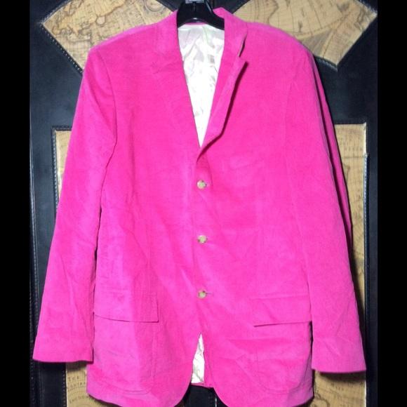 dc85dab8741684 Men' Ralph Lauren Polo corduroy pink blazer 42R. M_583ddc96f0137d984901c47e