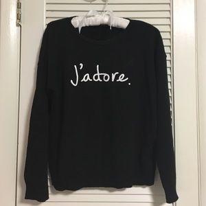 J'adore sweater 🌑