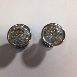 Michael Kors Crystal Stud Earrings