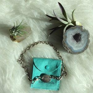 Tiffany & Co. Jewelry - Tiffany & Co Please Return To silver necklace
