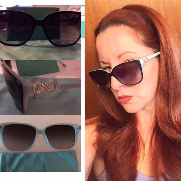 55a15e69c34e5 Authentic Tiffany Infinity Sunglasses. M 5841b5814e8d1777b906e3a7