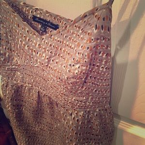 Madewell Silk patterned tank top