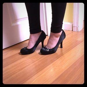 """Deb Shoes - Black 3"""" Heel"""