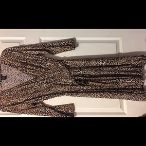 Glamorise Dresses & Skirts - Glamorous Cheetah print dress