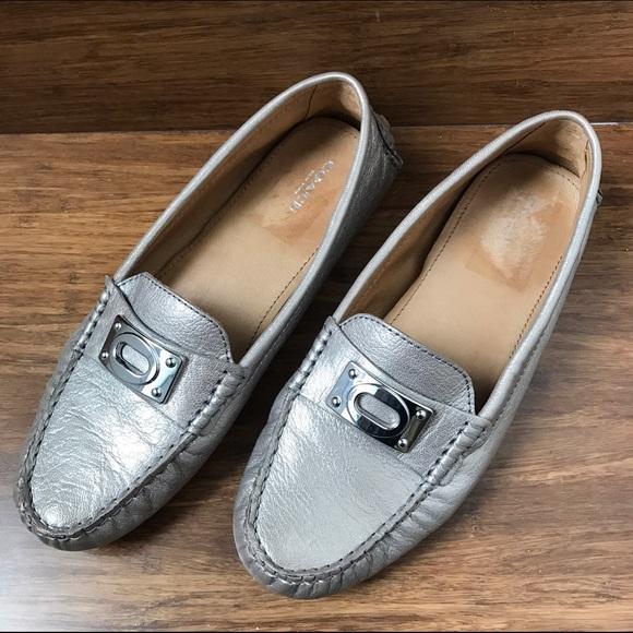 84a28cd374a Coach Shoes - Coach Napoleon Driving Mocs