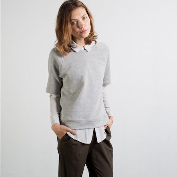 50% off Everlane Tops - Everlane Short Sleeve Sweatshirt from ...