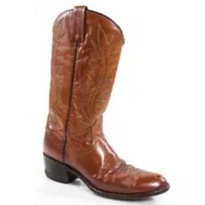 Dan Post Shoes - VINTAGE  DAN POST POINTED TOE COWBOY BOOTS SZ 7.5
