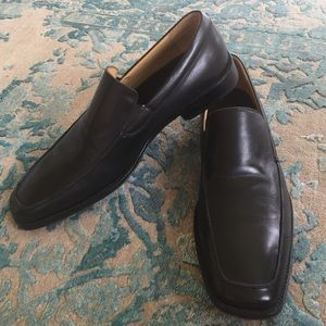 Gordon Rush Other - Gordon Rush Black Leather Loafers size 12