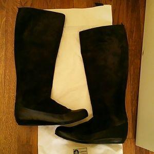 lanvin  Shoes - Brown Suede Lanvin Boots
