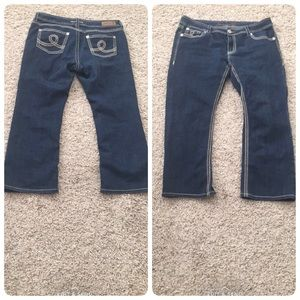 adbf37e0477a3 Seven7 Jeans - Seven 7 Luxe jeans boot cut size 18 EUC