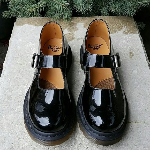 Dr. Martens Shoes - Dr. Martens patent leather Mary Jane shoes 88908e3b2