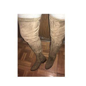 a11fb131634 Aldo Shoes - ALDO ELINNA SUEDE OVER THE KNEE BOOTS 👢