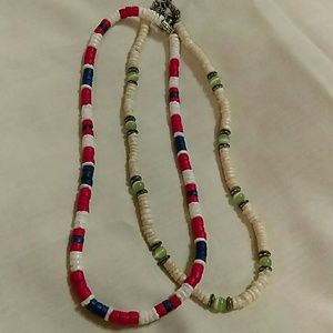 Jewelry - 2 puka shell necklaces