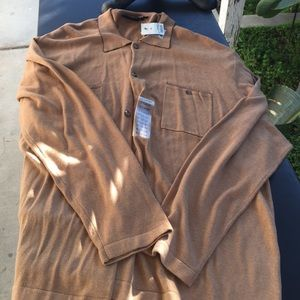 J. Ferrar men's sweater  size xlarge brownNWT for sale