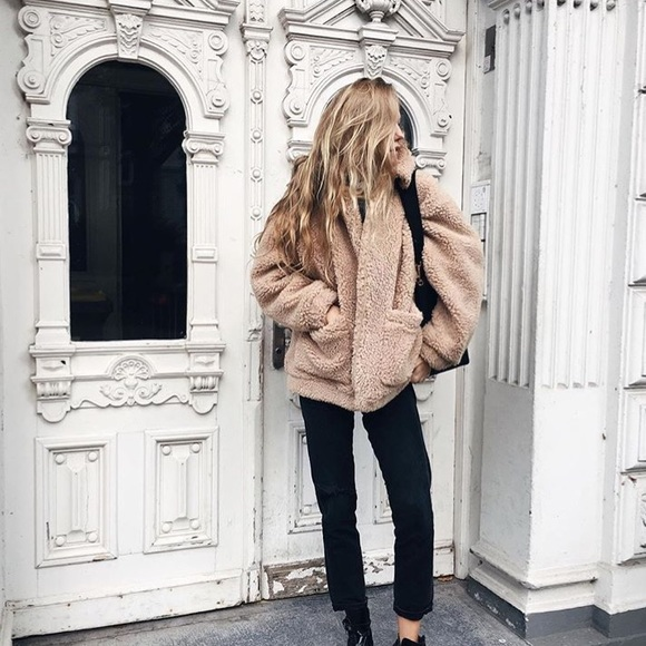 classic styles incredible prices detailed images H&M Jackets & Coats | Short Pile Jacket From Hm | Poshmark
